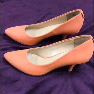 Call It Spring Orange heels